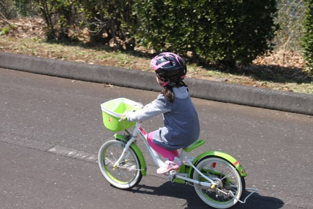 2歳の自転車