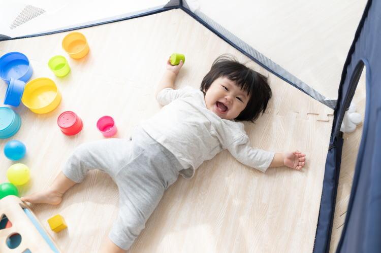 1歳の赤ちゃん寝ない