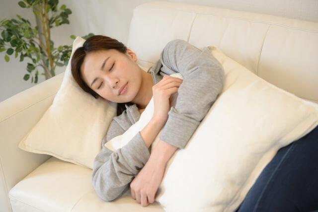 妊娠後期眠い