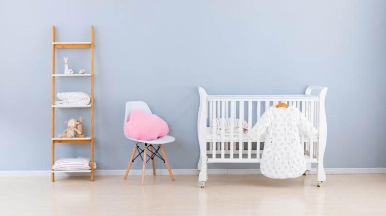 赤ちゃんの寝室別