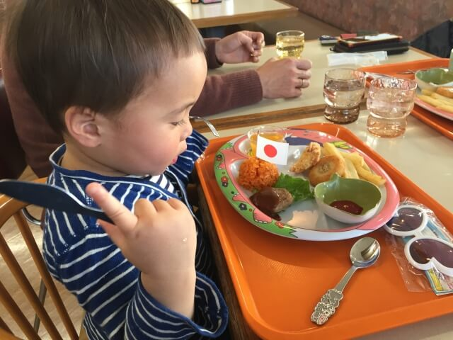 生後1ヶ月外食