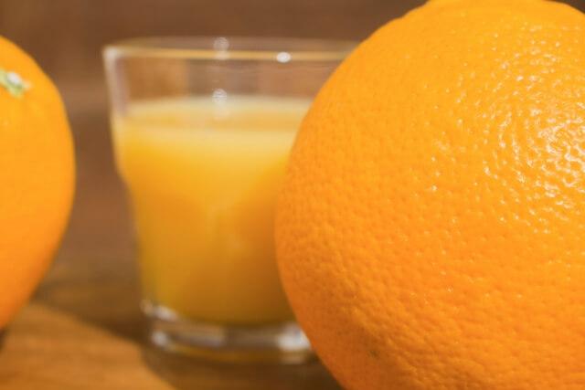 葉酸オレンジジュース