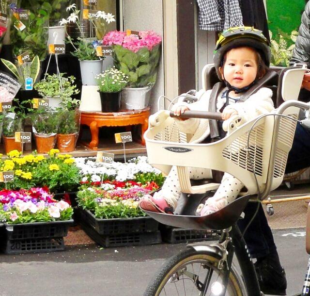 自転車の子供乗せいつから