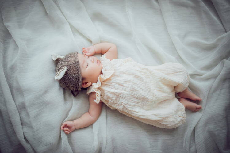 生後3ヶ月寝かしつけ
