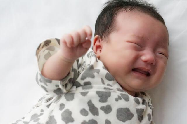 昼寝しない赤ちゃん