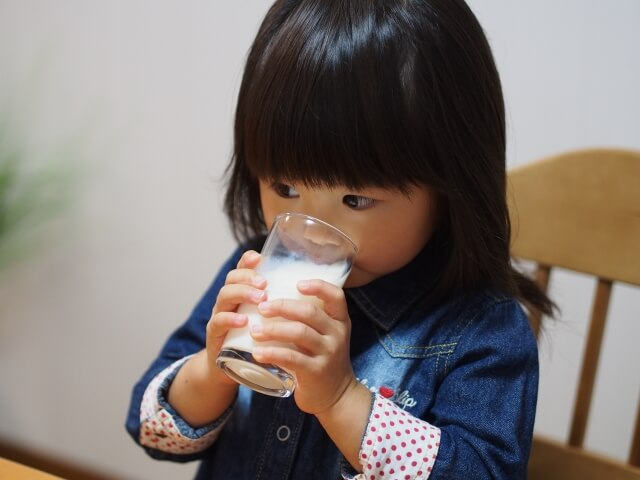 子供の便秘と食事