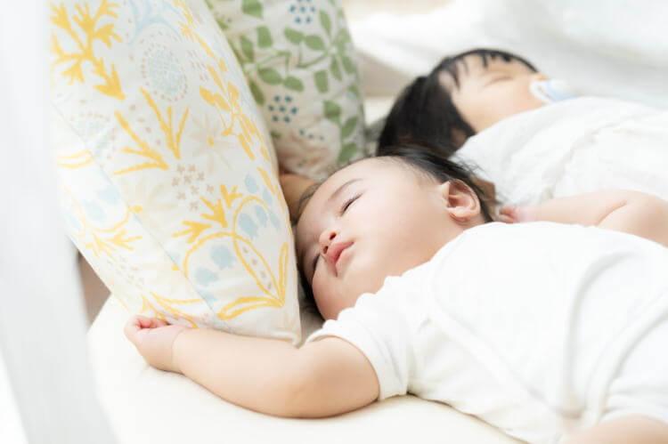 お昼寝しない赤ちゃん