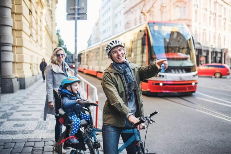 自転車子供乗せいつから