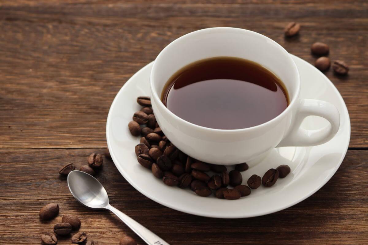 白樺樹液のコーヒー