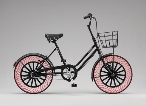 パンクしない自転車ブリジストン