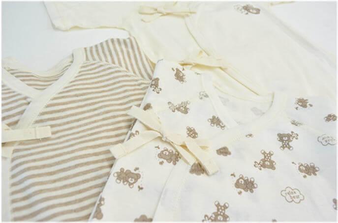 赤ちゃんの肌着や衣類